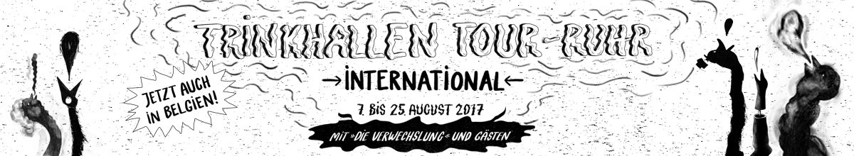 Trinkhallen Tour Ruhr International